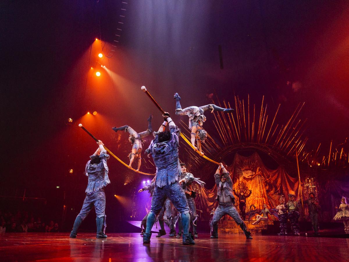 Cirque du Soleil Alegria Houston