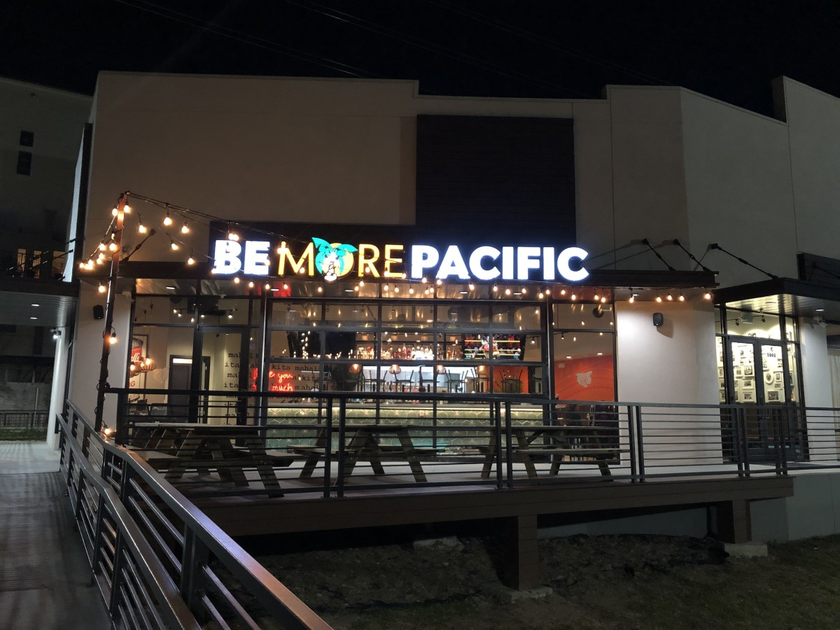 Be More Pacific Houston exterior