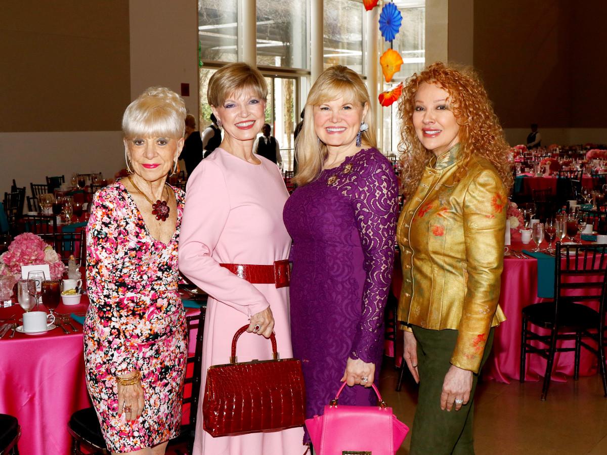 Barbara Bigham, Donna Arp Weitzman, Regina Bruce, Empress Gilbert