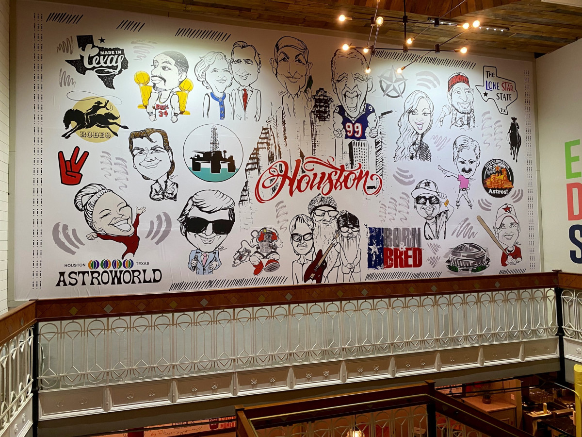 Underground Food Hall mural