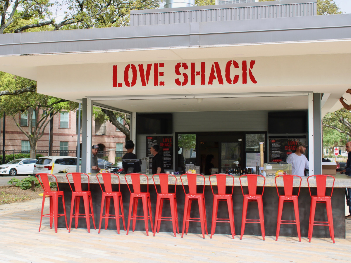 Love Shack Levy Park Tim Love  exteior