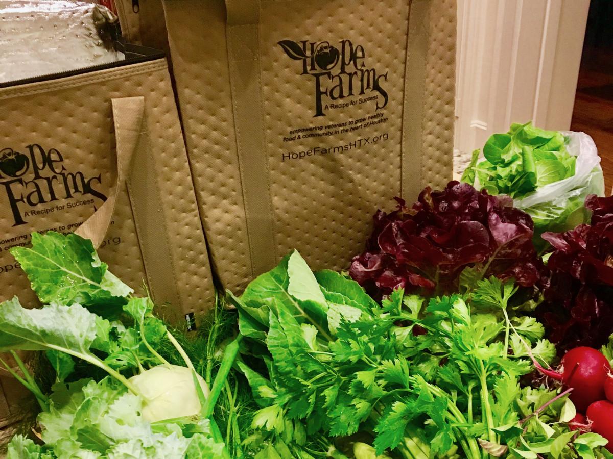 Hope Farms Farm Share bags