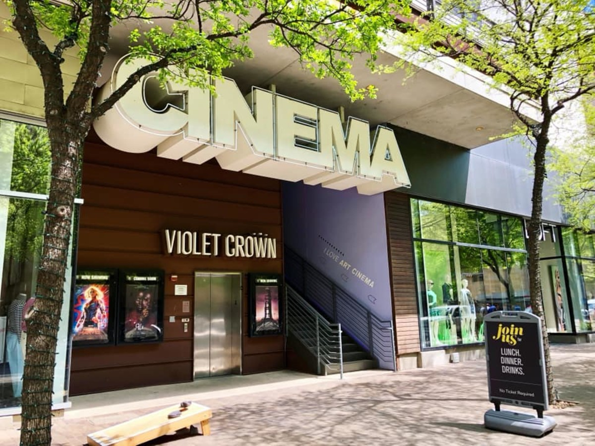 Violet Crown Cinema theater movie