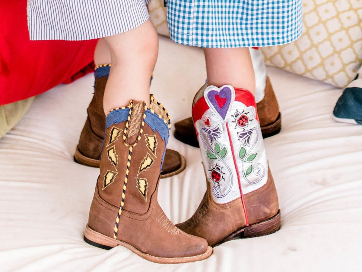 Miron Crosby, kids boots