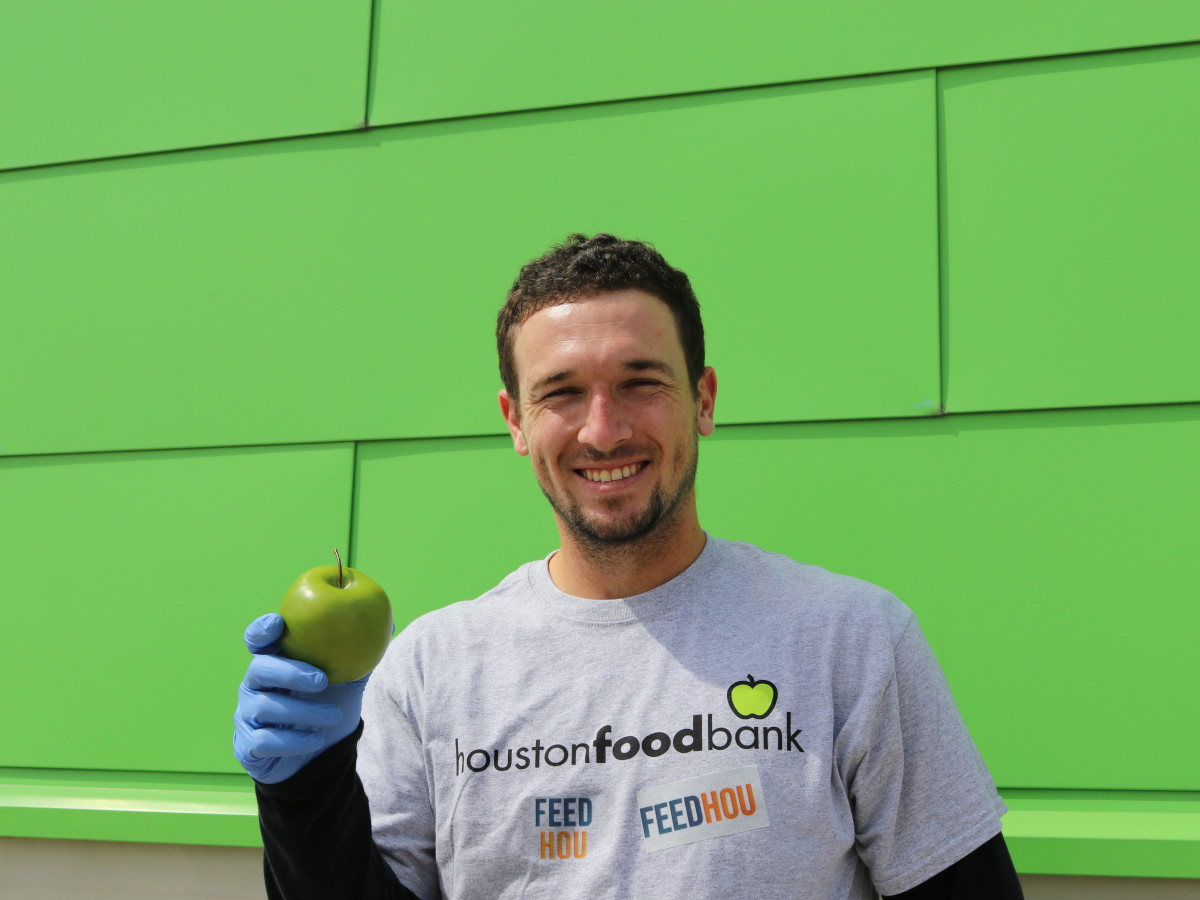 Alex Bregman Houston Food Bank FEEDHOU