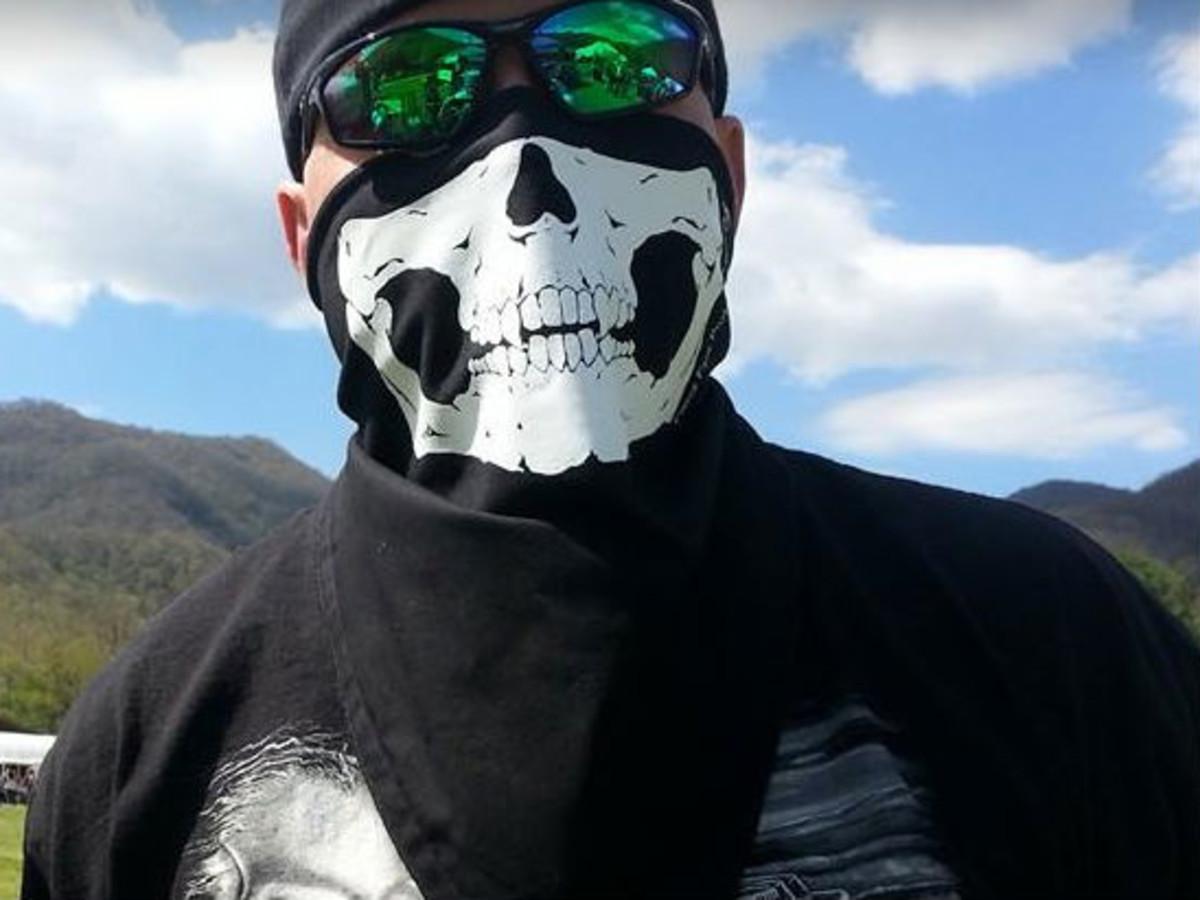 Bandanna face mask
