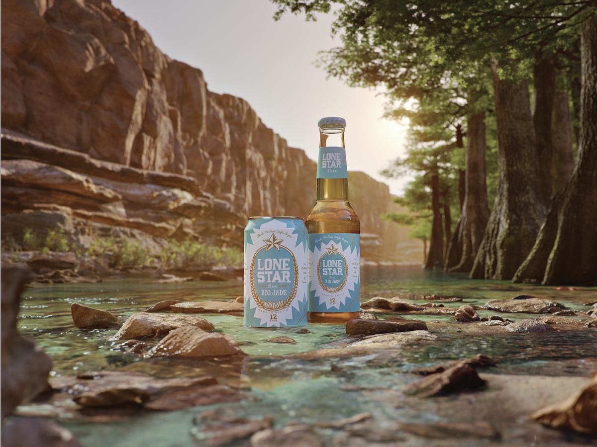Lone Star Beer Rio Jade river