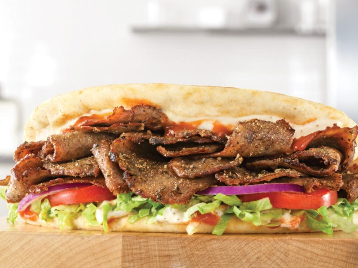 Drive Thru Gourmet - Spicy Greek Gyro
