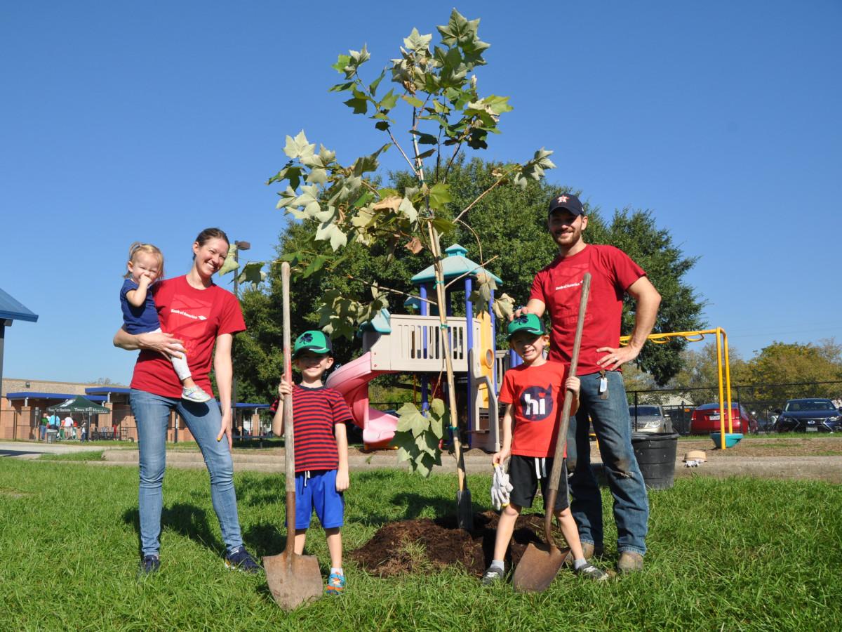Trees for Houston planting season 2020