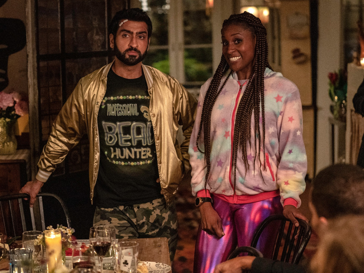 Kumail Nanjiani and Issa Rae in The Lovebirds