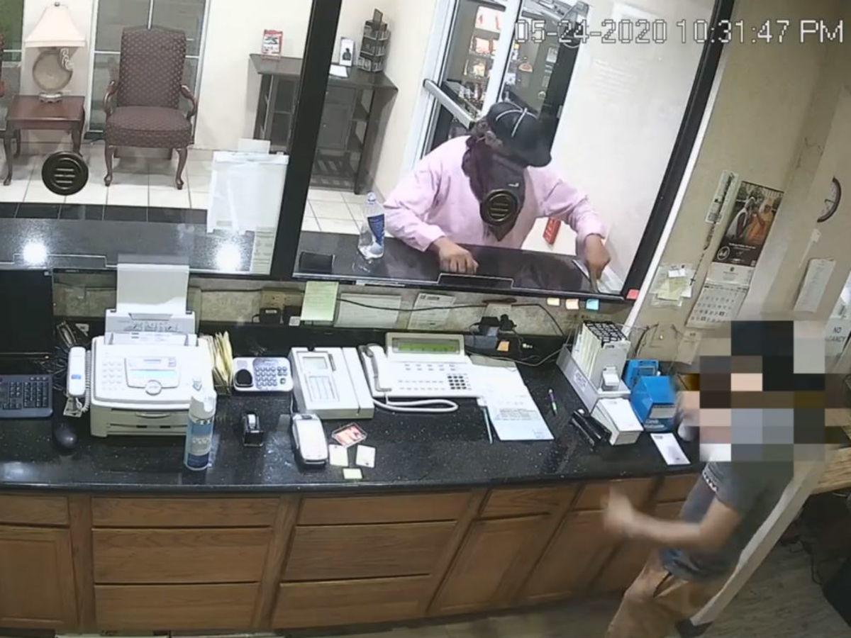 Budget Host Inn robber