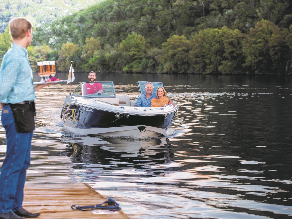 Lake Austin Spa water taxi