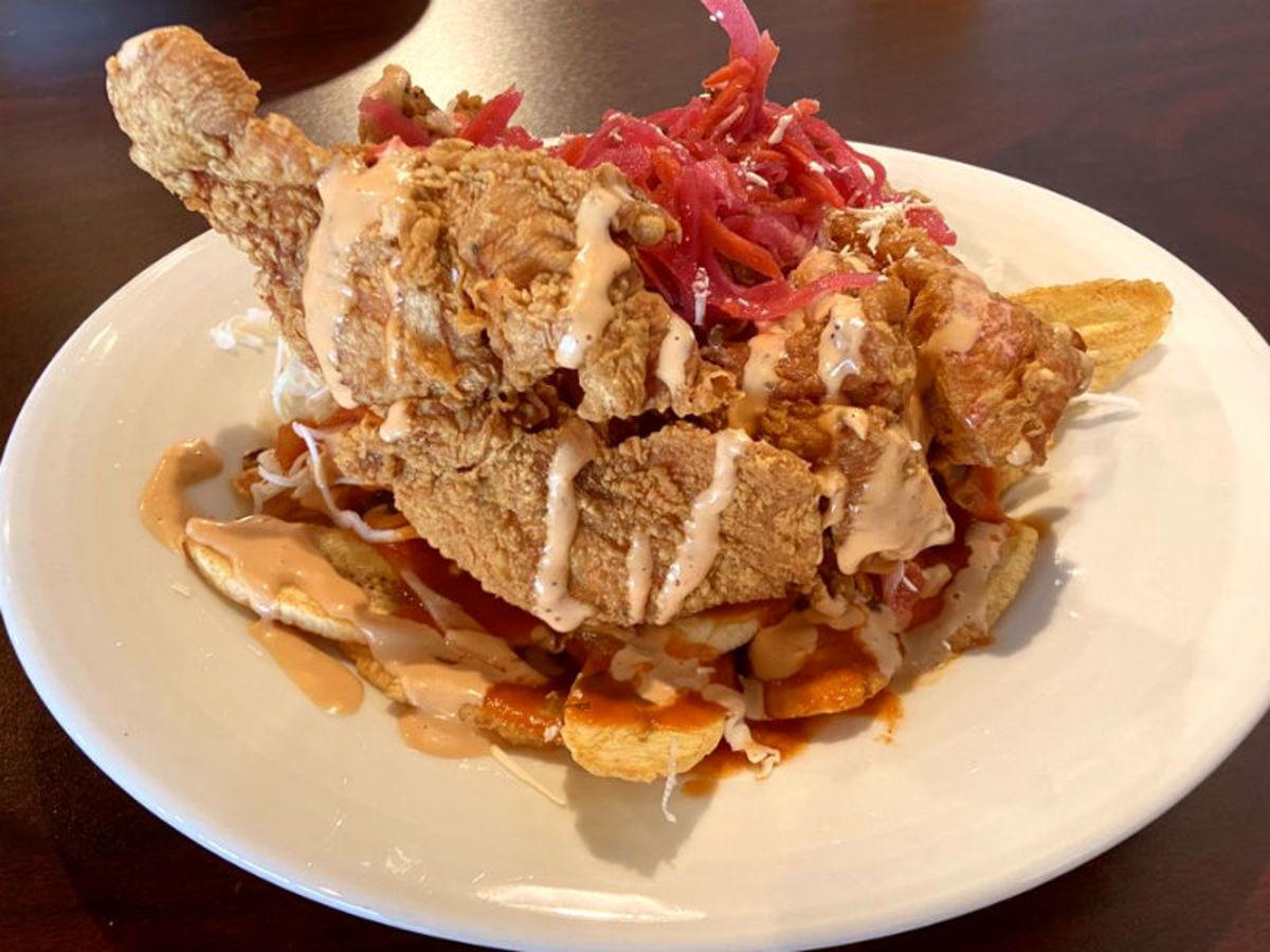HonduMaya Cuisine chicken