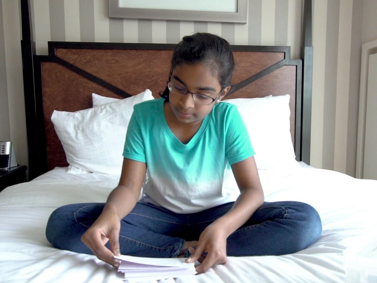 Ashrita Gandhari in Spelling the Dream