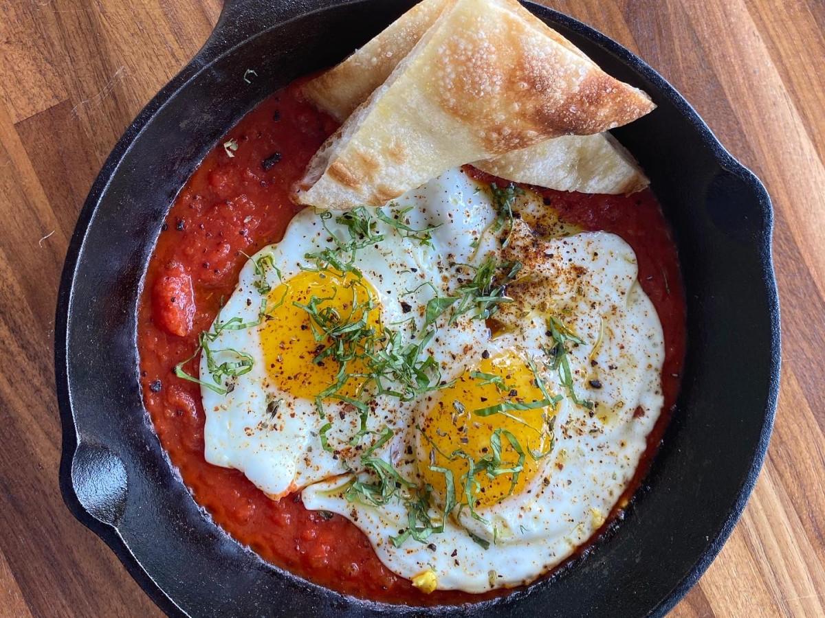 BOH Pasta eggs purgatory