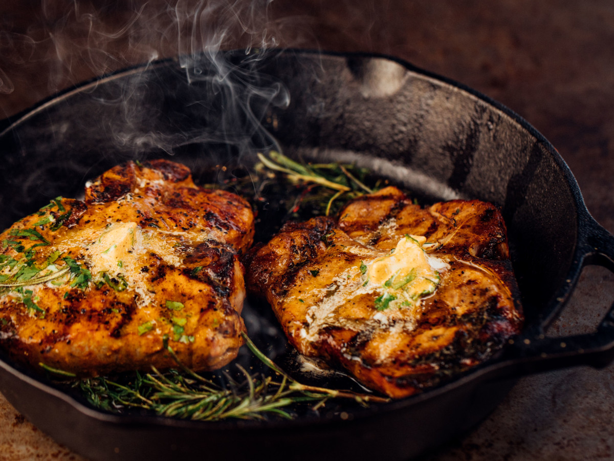 The Rustic pork chop