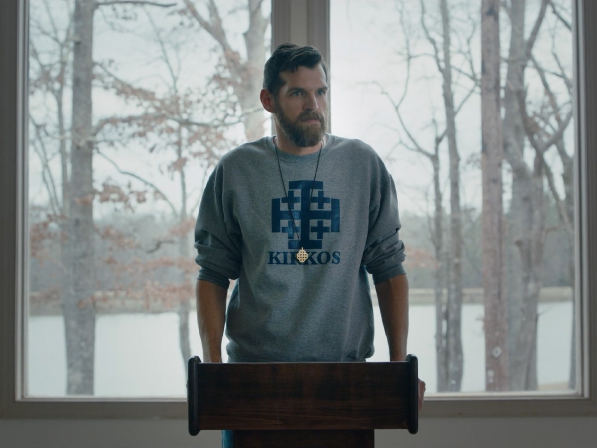 Timothy Simons in Yes, God, Yes