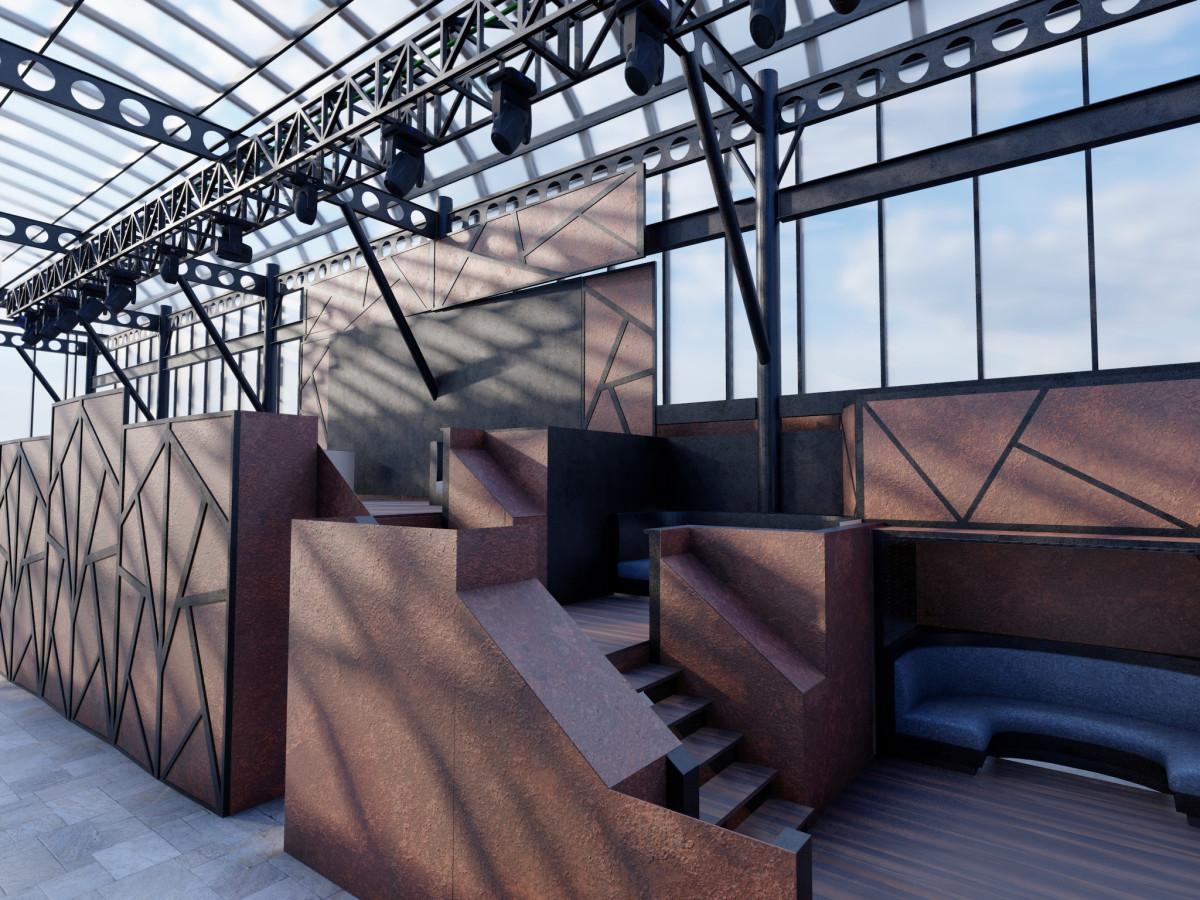 Rise Rooftop rendering