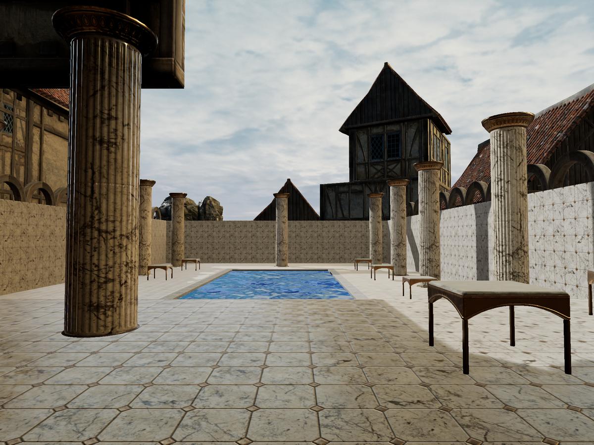Escape: Roma virtual reality app