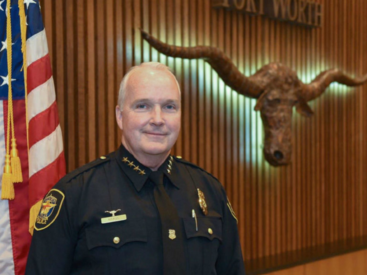 Fort Worth police Ed Kraus