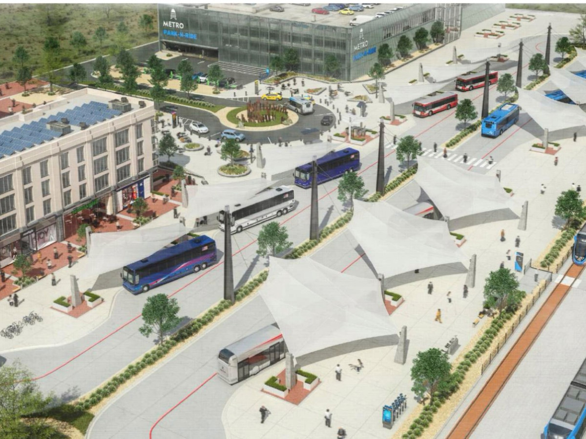 Project Connect regional transportation center