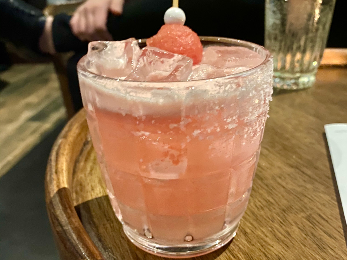 Savoir Sip salted watermelon cocktail