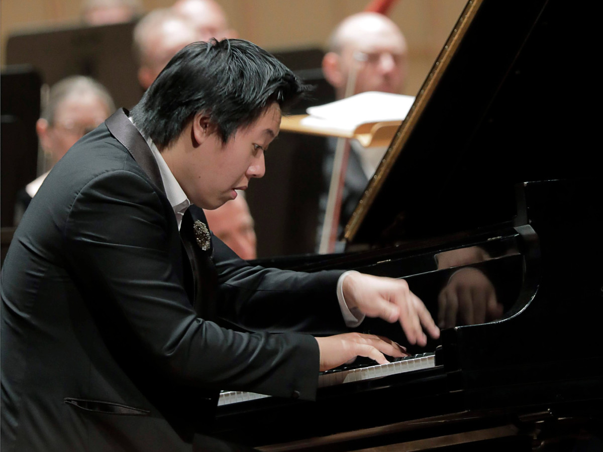 Shuan Hern Lee at 2019 Cliburn International Junior Piano Competition and Festival