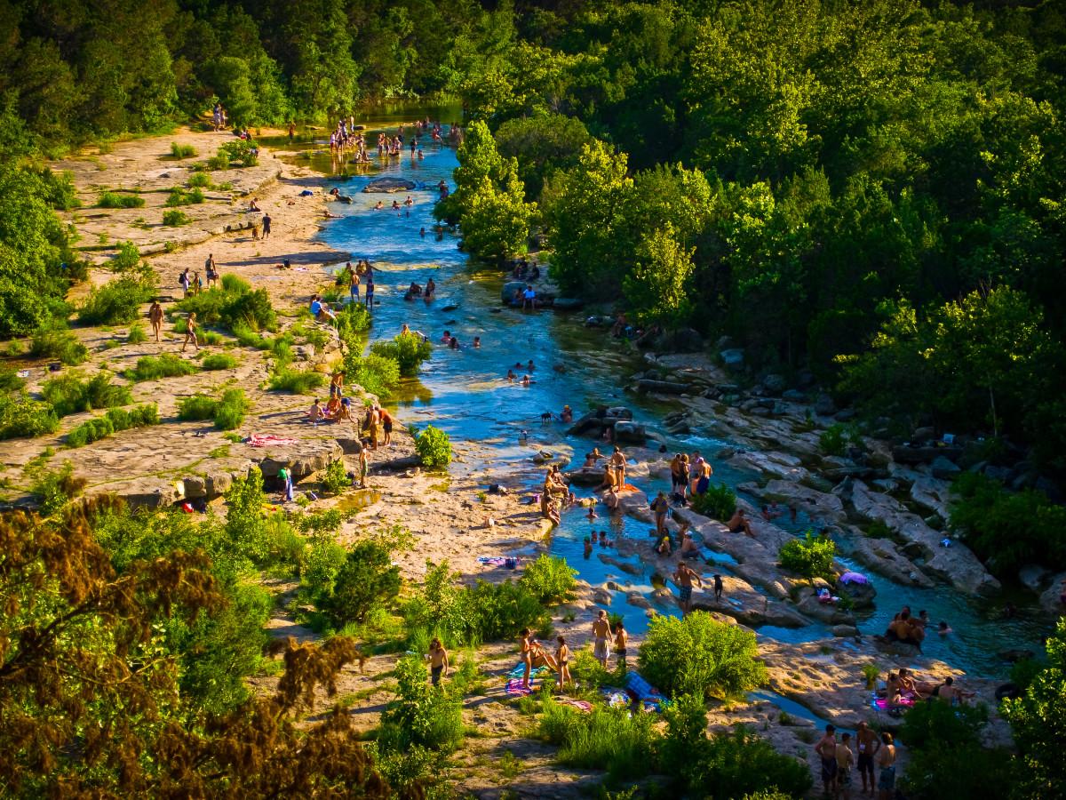 Austin outdoors river