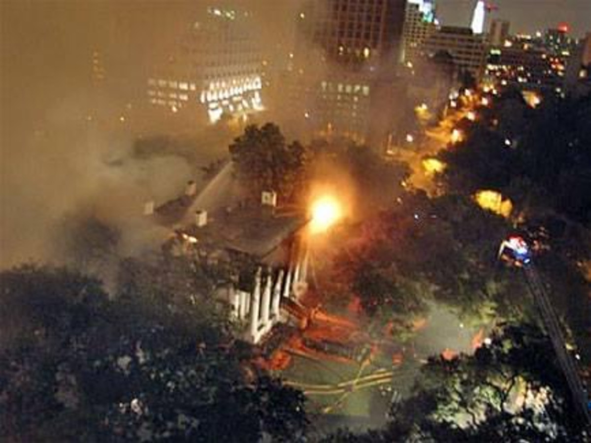 Texas Governor's Mansion 2008 fire