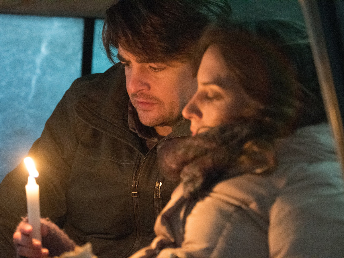 Vincent Piazza and Genesis Rodriguez in Centigrade