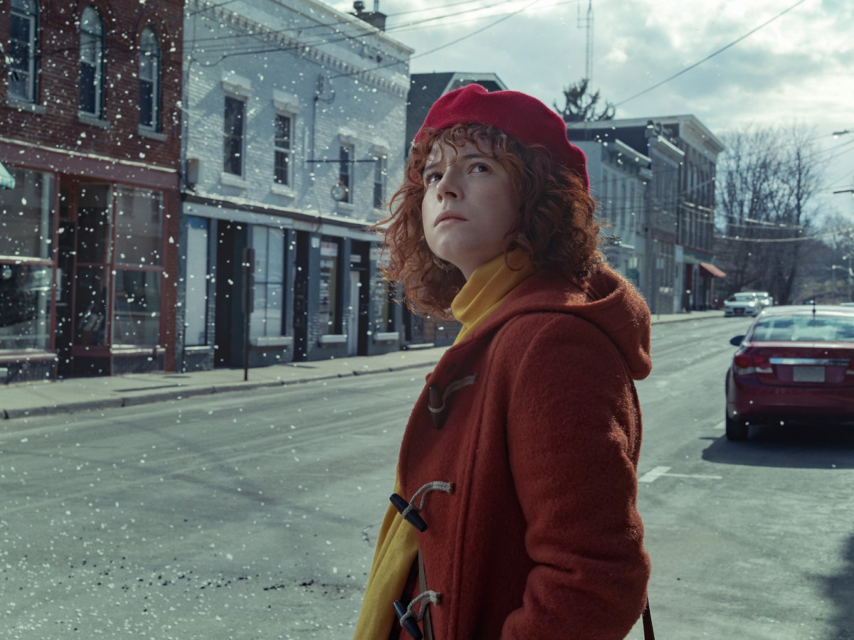 Jessie Buckley in I'm Thinking of Ending Things