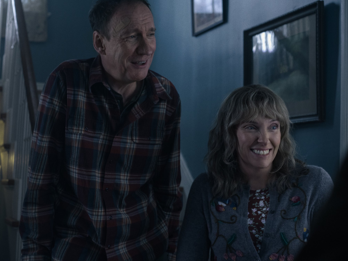 David Thewlis and Toni Collette in I'm Thinking of Ending Things