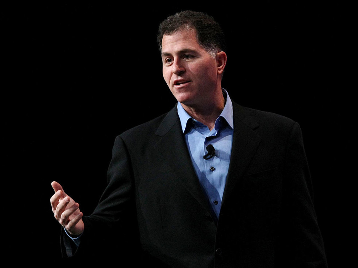 Michael Dell headshot