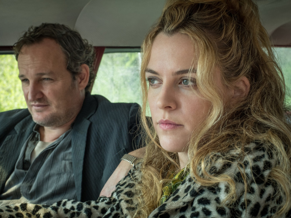 Jason Clarke and Riley Keough in The Devil All The Time