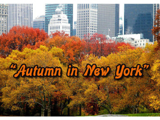 The Music Box Theater Autumn in New York