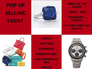 Pop Up Selling Event In Dallas