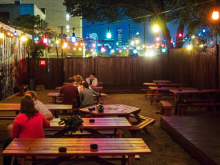 Patio at Bryan Street Tavern in Dallas