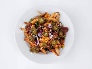 24 Diner Austin restaurant chili fries