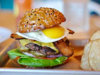 Delicious Austin restaurant market brunch burger