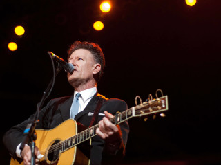 Austin Photo Set: News_Kevin_Fire Relief Concert_Review_Oct 2011_lyle lovett