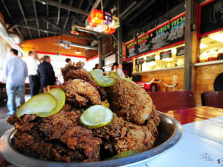 Fried chicken at Chicken Scratch restaurant in Dallas