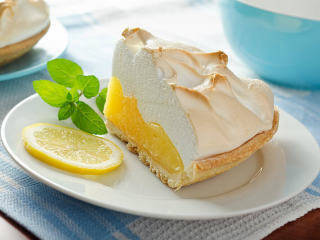 Lemon meringue pie at Original Market Diner in Dallas