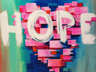 Art Benefits, Inc. presents The Hope-Courage-Love Charity Art Show