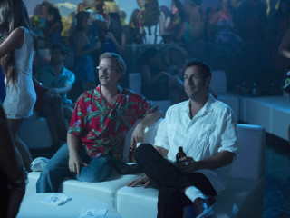 David Spade and Adam Sandler in The Do-Over