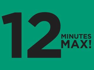 Diverseworks presents 12 Minutes Max