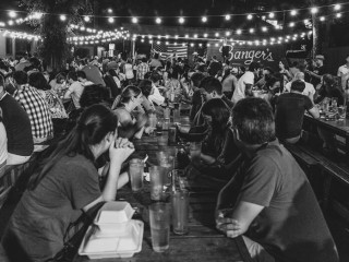Banger's_Rainey Street_outdoor patio_2014