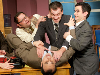 The City Theatre Austin Company presents Laughter on the 23rd Floor