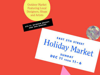 ARO + Passport Vintage + Byron & Blue presents East 5th St. Holiday Market
