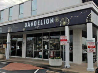 Dandelion Cafe Bellaire coffee shop exterior