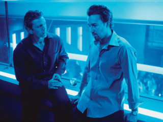 Barry Pepper and Edward Norton in 25th Hour